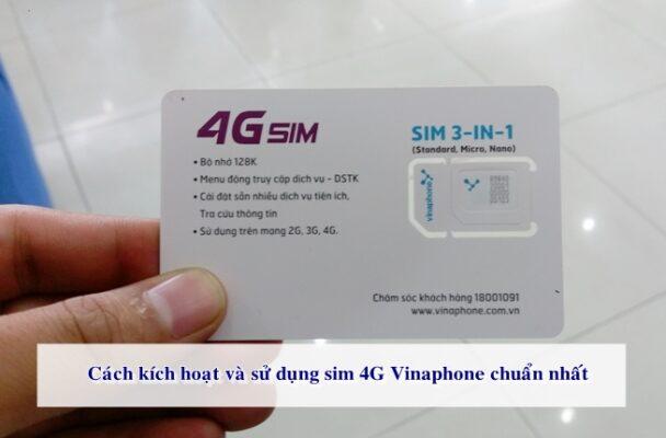 Kết nối mạng với sim 4G Vinaphone rất nhanh chóng